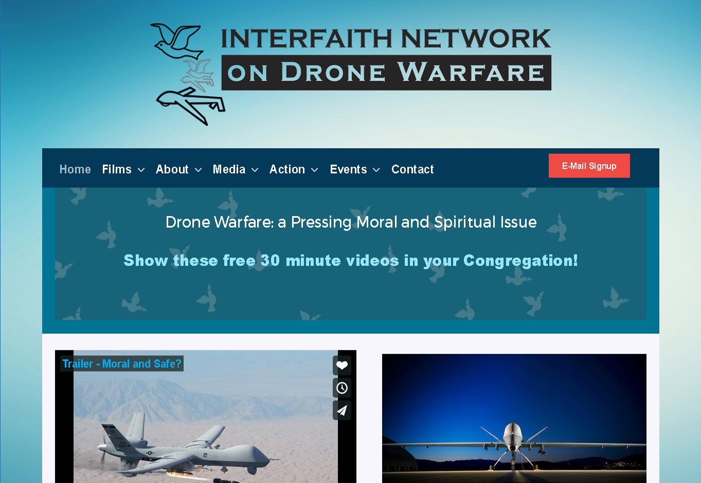 Interfaith Drone Network